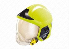 přilba GALLET F1 XF se zátylníkem,  fluorescenční, 52 - 62 cm