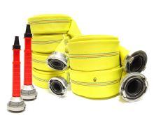 set hadicový PH FIRE GOLD 4xC52-10m, 2xB75-10m a 2ks plast. proudnice C52