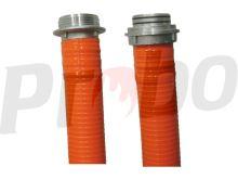 """savice A110 1,6m PROFI EXTRA s """"O"""" kroužky oranžová"""