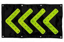 bezpečnostní směrová tabule 82 x 44 cm