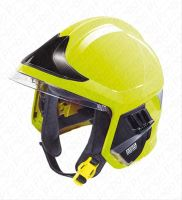 přilba GALLET F1 XF se zátylníkem, fluorescenční - standard