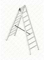 žebřík dvojitý Profi-AL/S 210 (štafle)