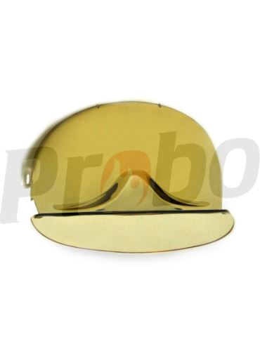 štít zlatý k přilbě GALLET F1 SA, F1 SF