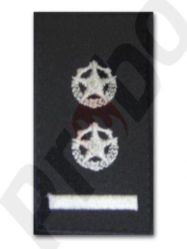 hodnostní značení - zástupce velitele jednotky
