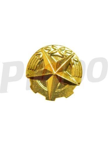 rozeta  zlatá - 14 mm