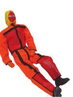 cvičná figurína MUŽ PŘES PALUBU, 180 cm / 40 kg - oranžový overal
