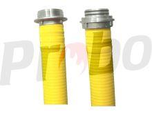 "savice A110 1,6m PROFI EXTRA s ""O"" kroužky žlutá"